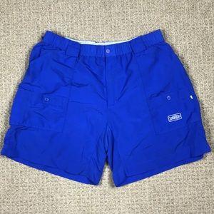 Aftco Shorts - Aftco bluewater nylon cargo fishing shorts size 40